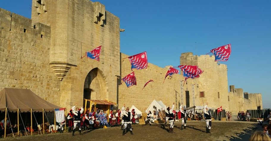 Aigues Mortes Sbandieratori
